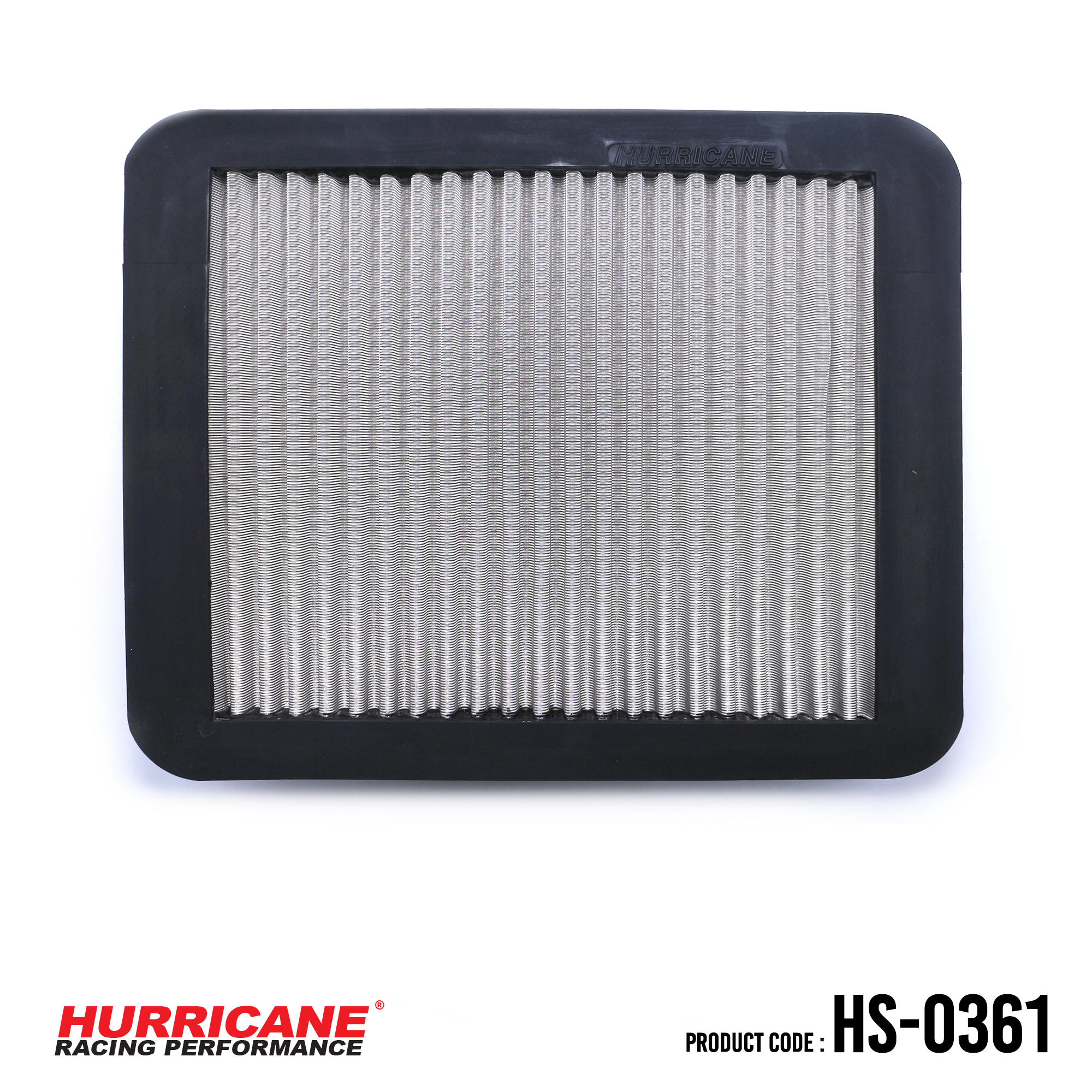 HURRICANE STAINLESS STEEL AIR FILTER FOR HS-0361 Toyota