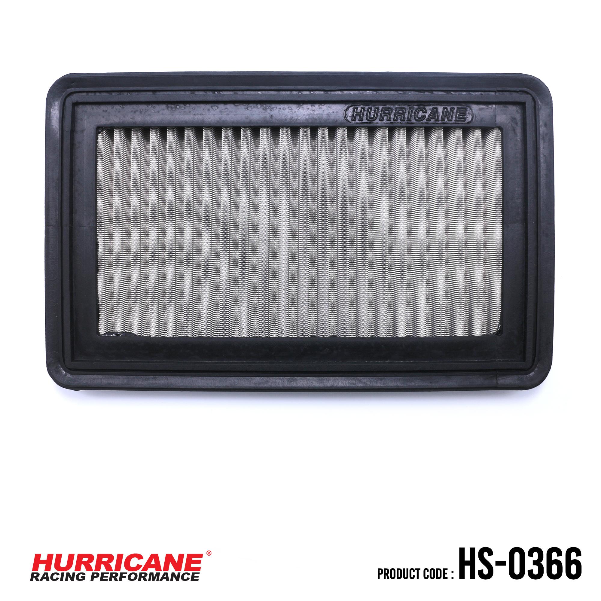 HURRICANE STAINLESS STEEL AIR FILTER FOR HS-0366 Honda