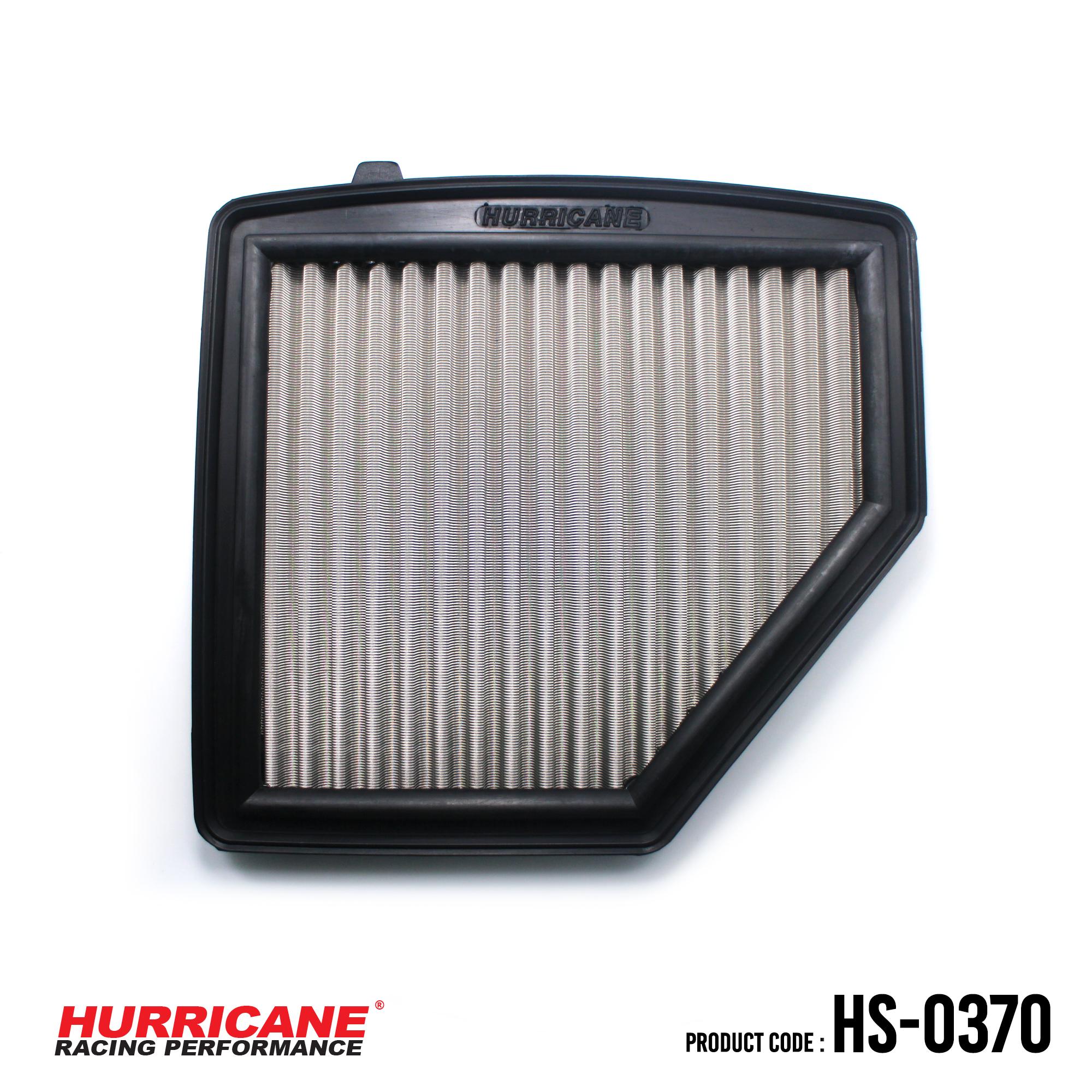 HURRICANE STAINLESS STEEL AIR FILTER FOR HS-0370 Honda