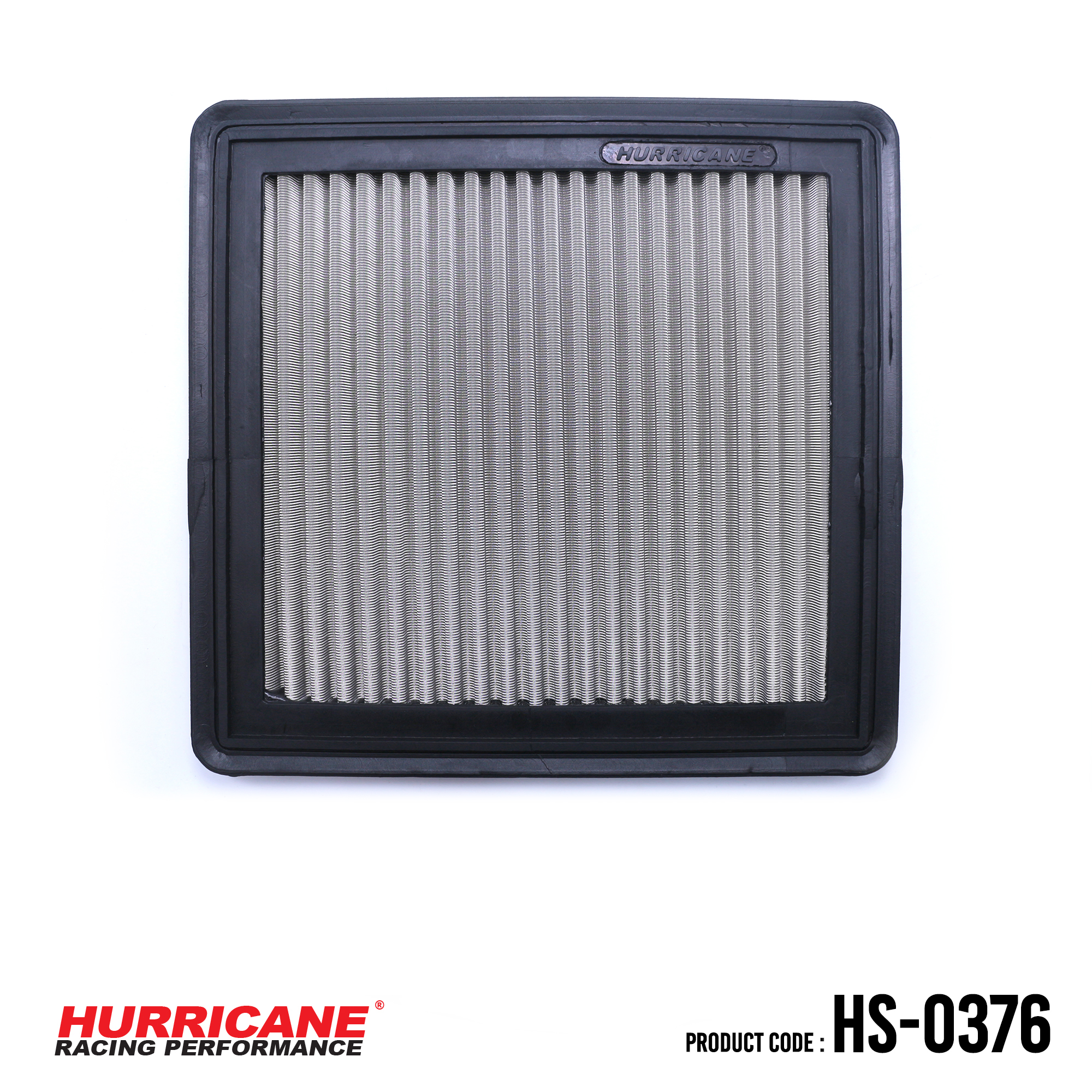 HURRICANE STAINLESS STEEL AIR FILTER FOR HS-0376 Mazda
