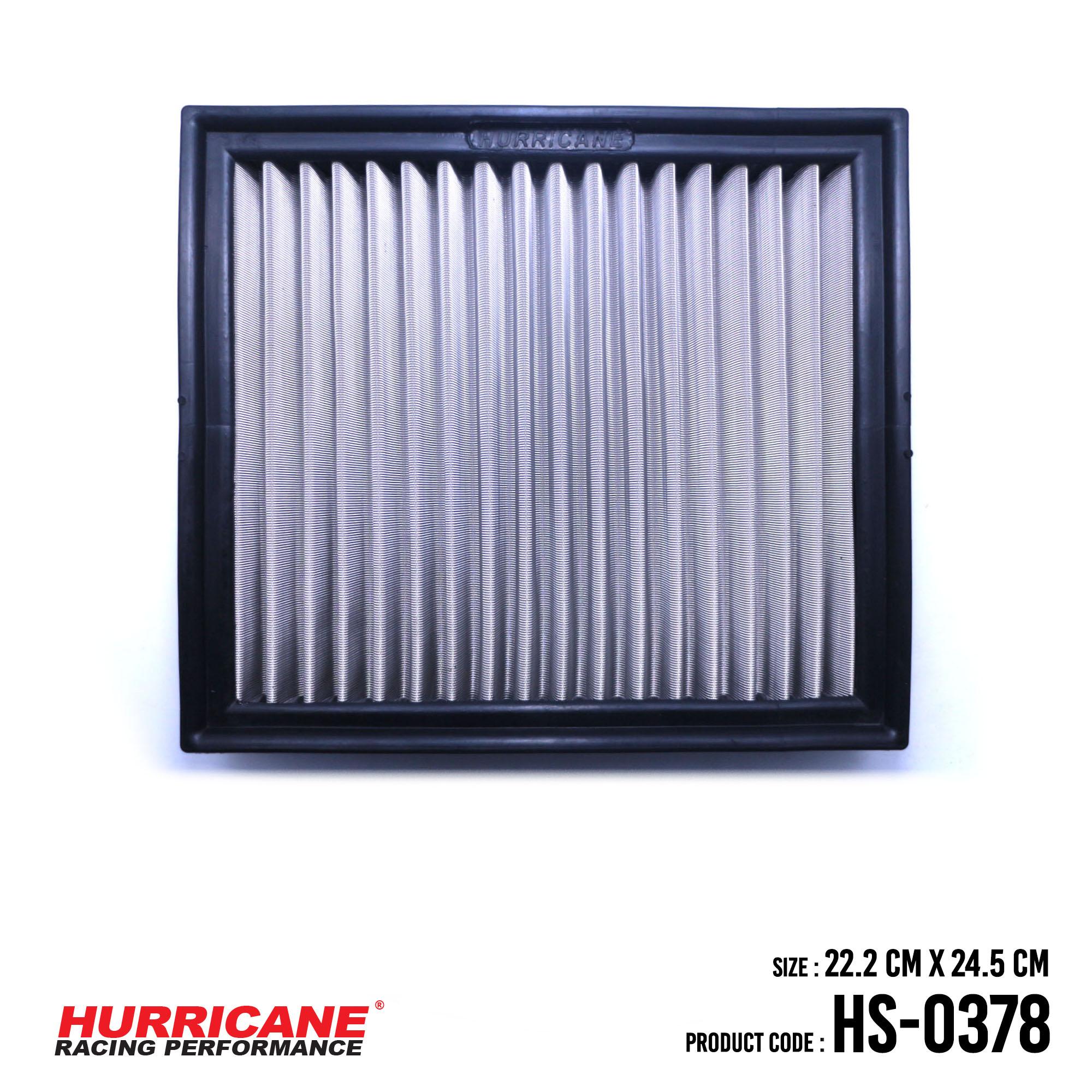 HURRICANE STAINLESS STEEL AIR FILTER FOR HS-0378 LexusToyota