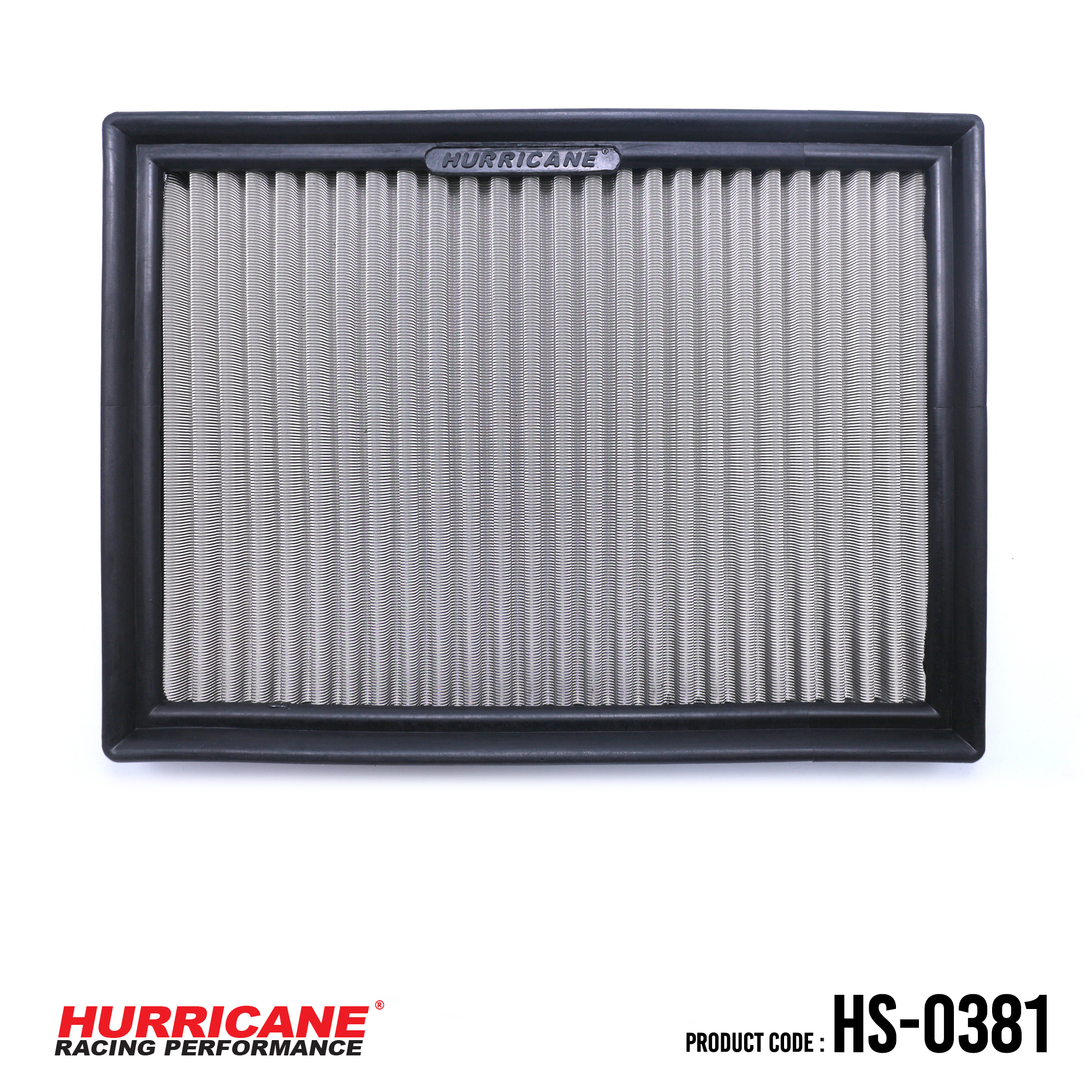 HURRICANE STAINLESS STEEL AIR FILTER FOR HS-0381 MG