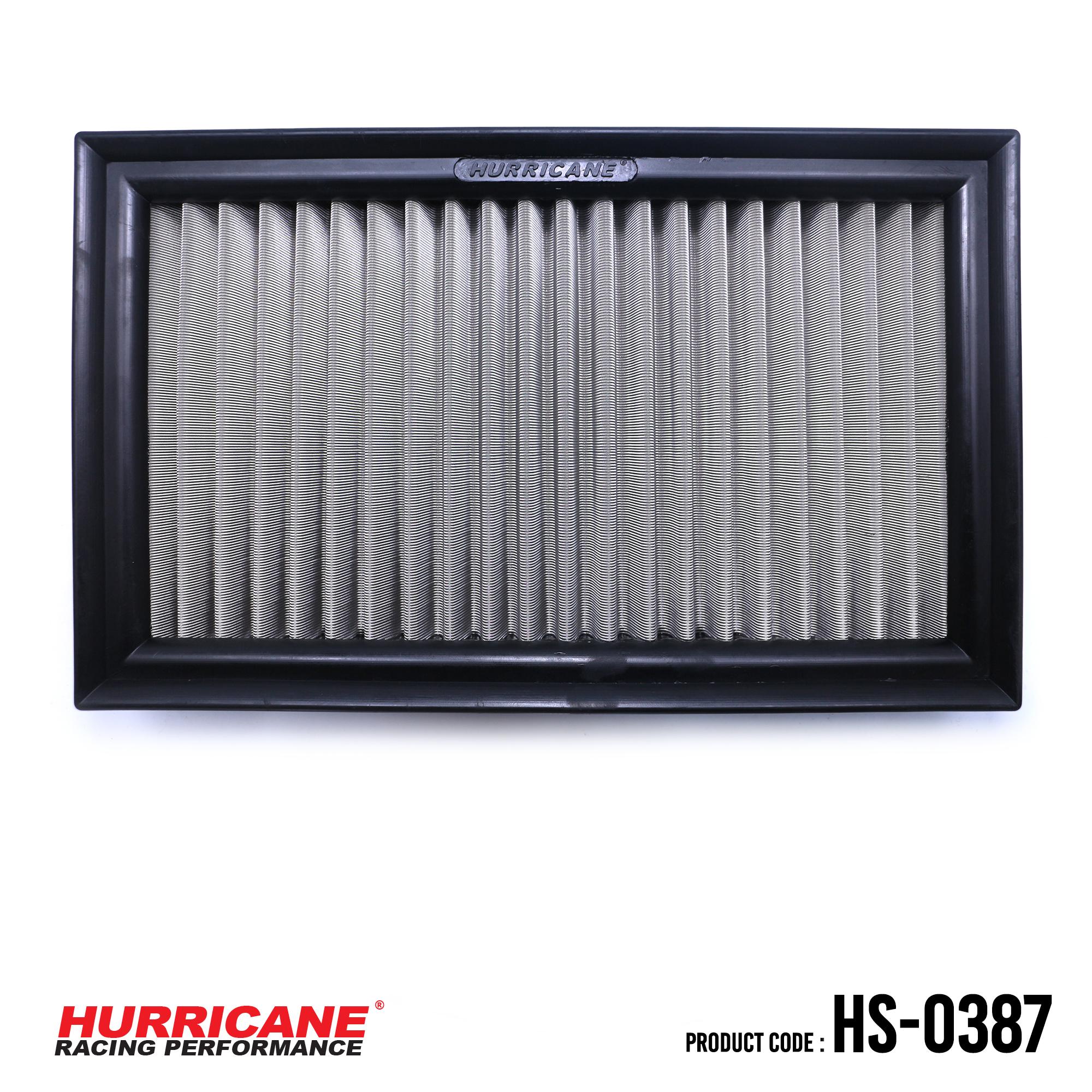 HURRICANE STAINLESS STEEL AIR FILTER FOR HS-0387 AudiVolkswagen
