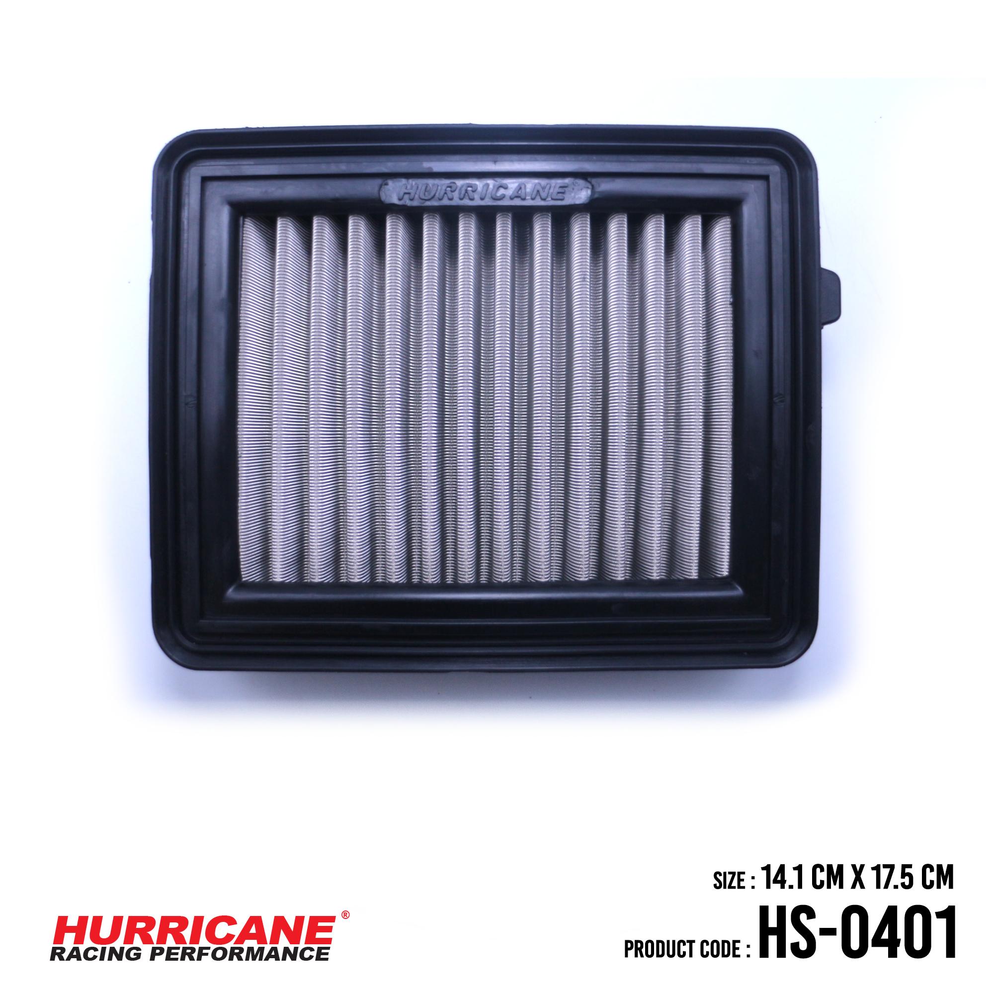 HURRICANE STAINLESS STEEL AIR FILTER FOR HS-0401 Honda