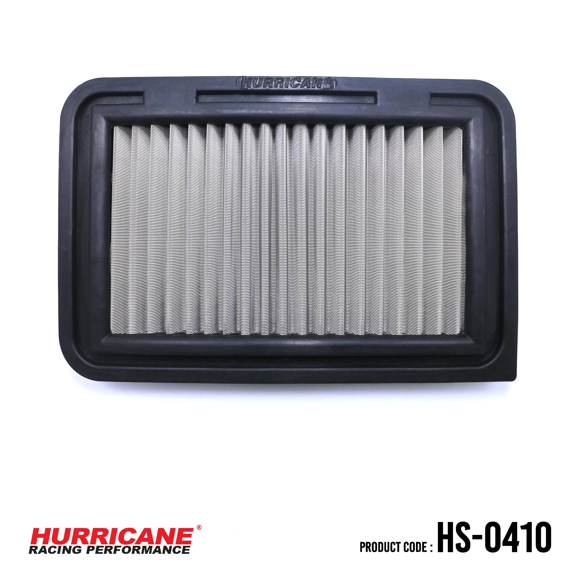 HURRICANE STAINLESS STEEL AIR FILTER FOR HS-0410 Suzuki
