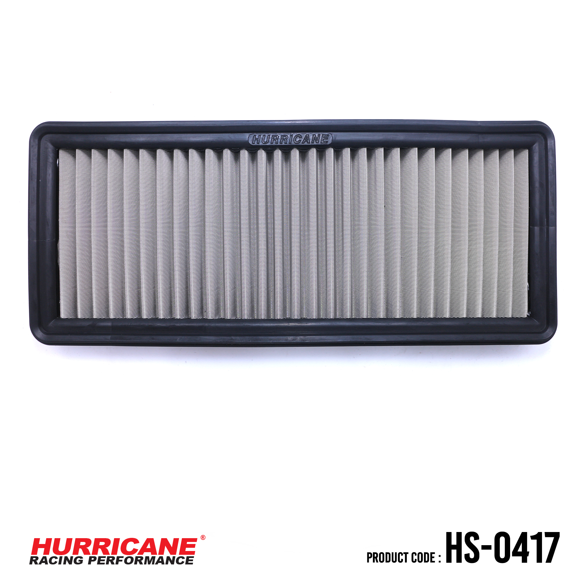 HURRICANE STAINLESS STEEL AIR FILTER FOR HS-0417 BMW