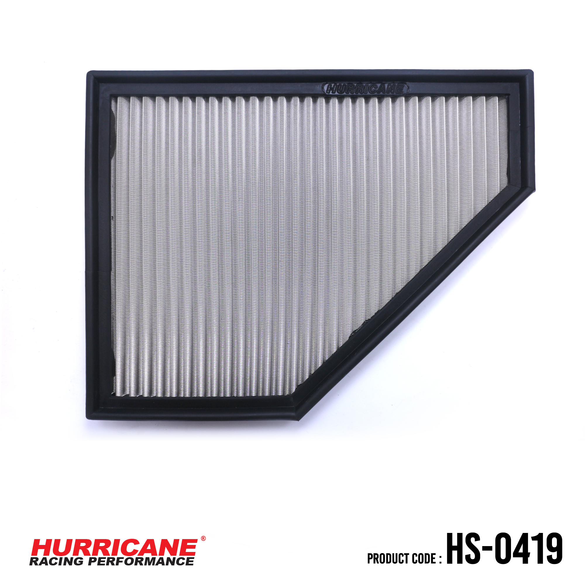 HURRICANE STAINLESS STEEL AIR FILTER FOR HS-0419 BMW
