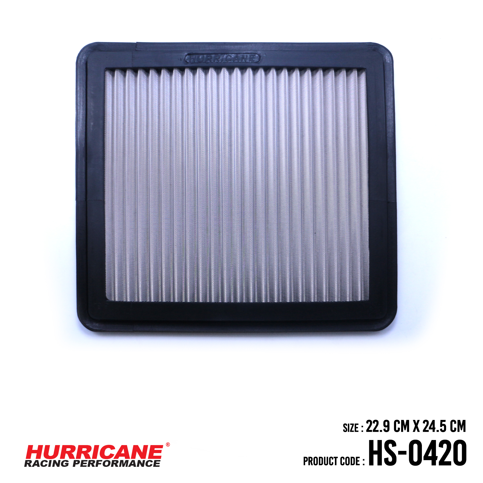 HURRICANE STAINLESS STEEL AIR FILTER FOR HS-0420 Proton
