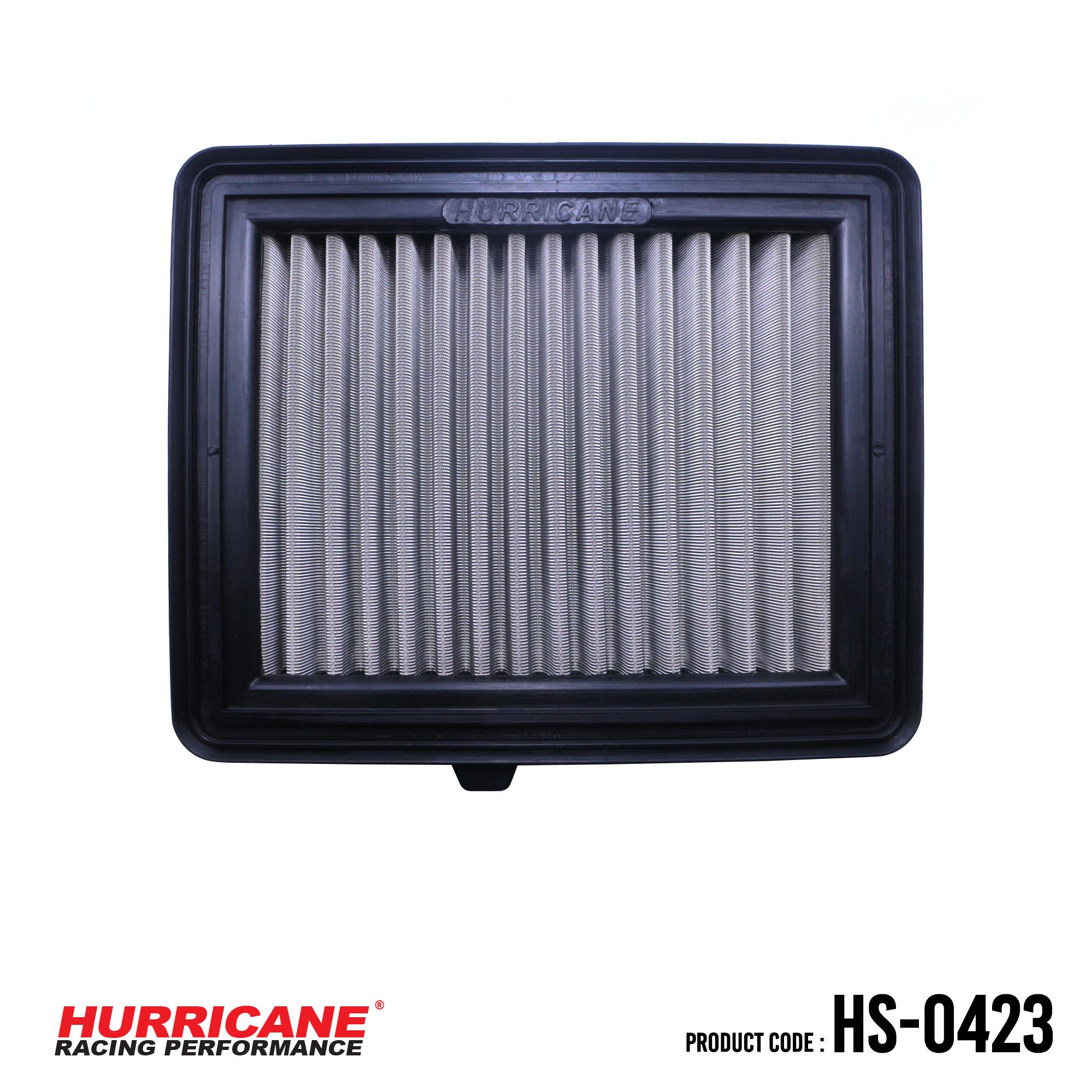 HURRICANE STAINLESS STEEL AIR FILTER FOR HS-0423 Honda