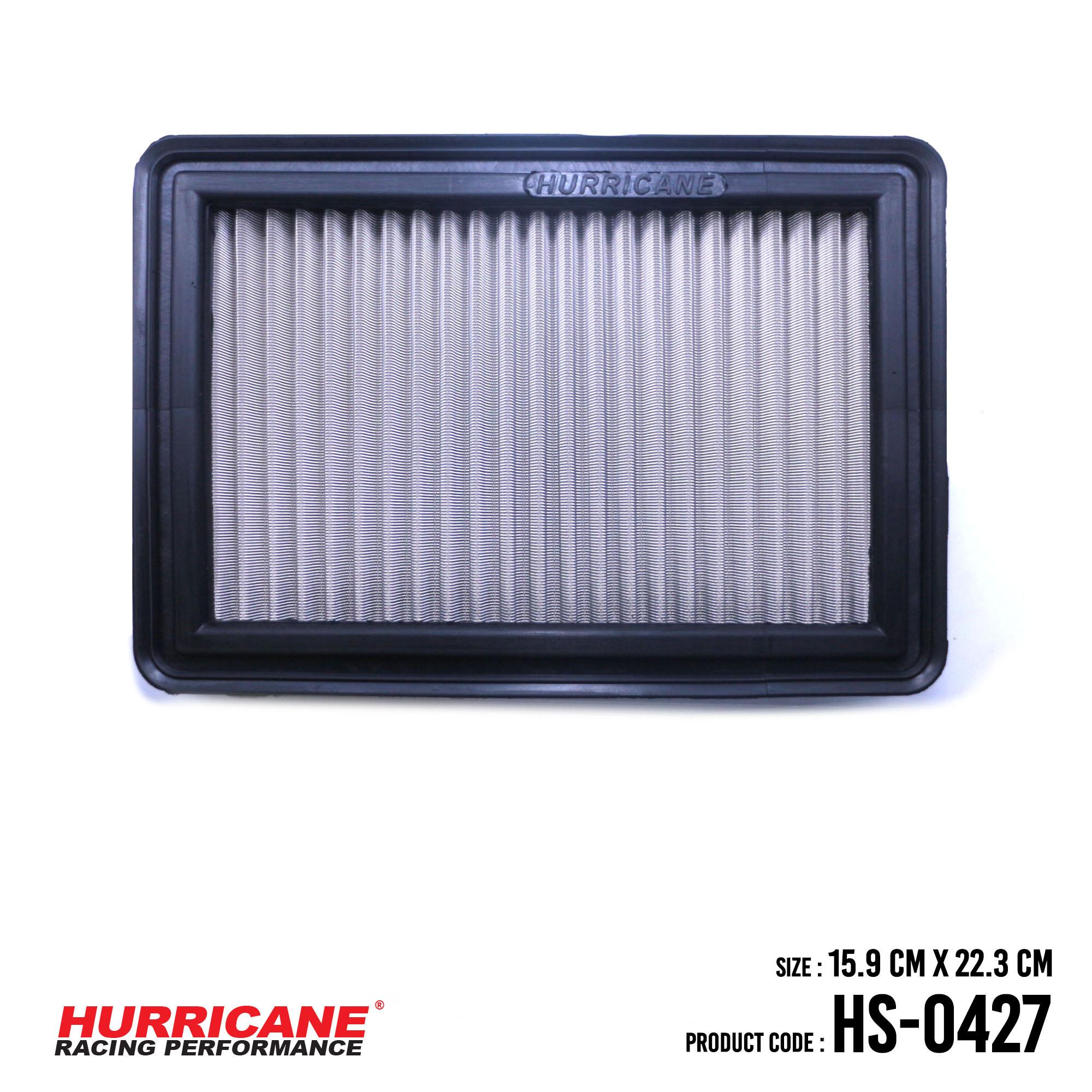 HURRICANE STAINLESS STEEL AIR FILTER FOR HS-0427 Honda