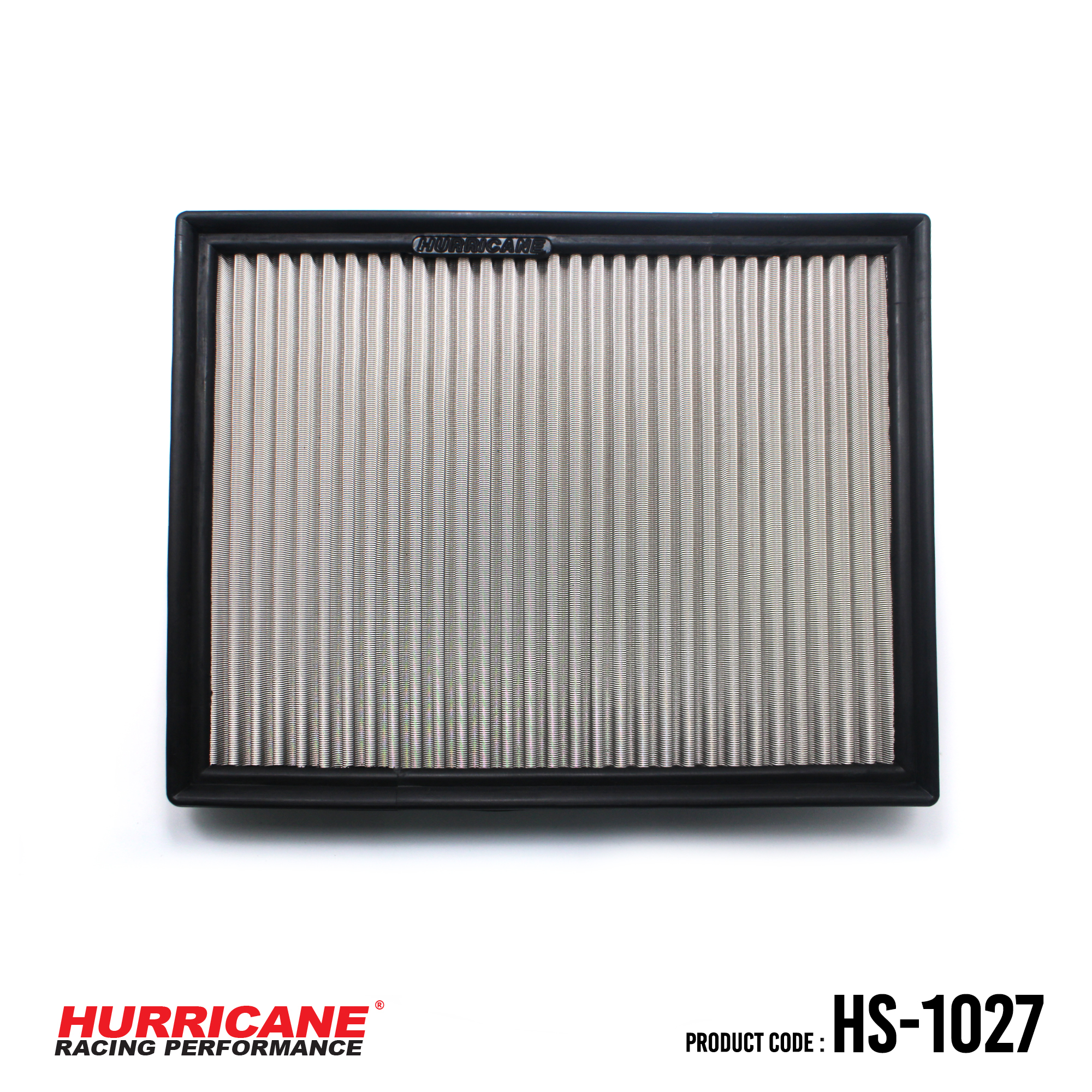 HURRICANE STAINLESS STEEL AIR FILTER FOR HS-1027 Ford
