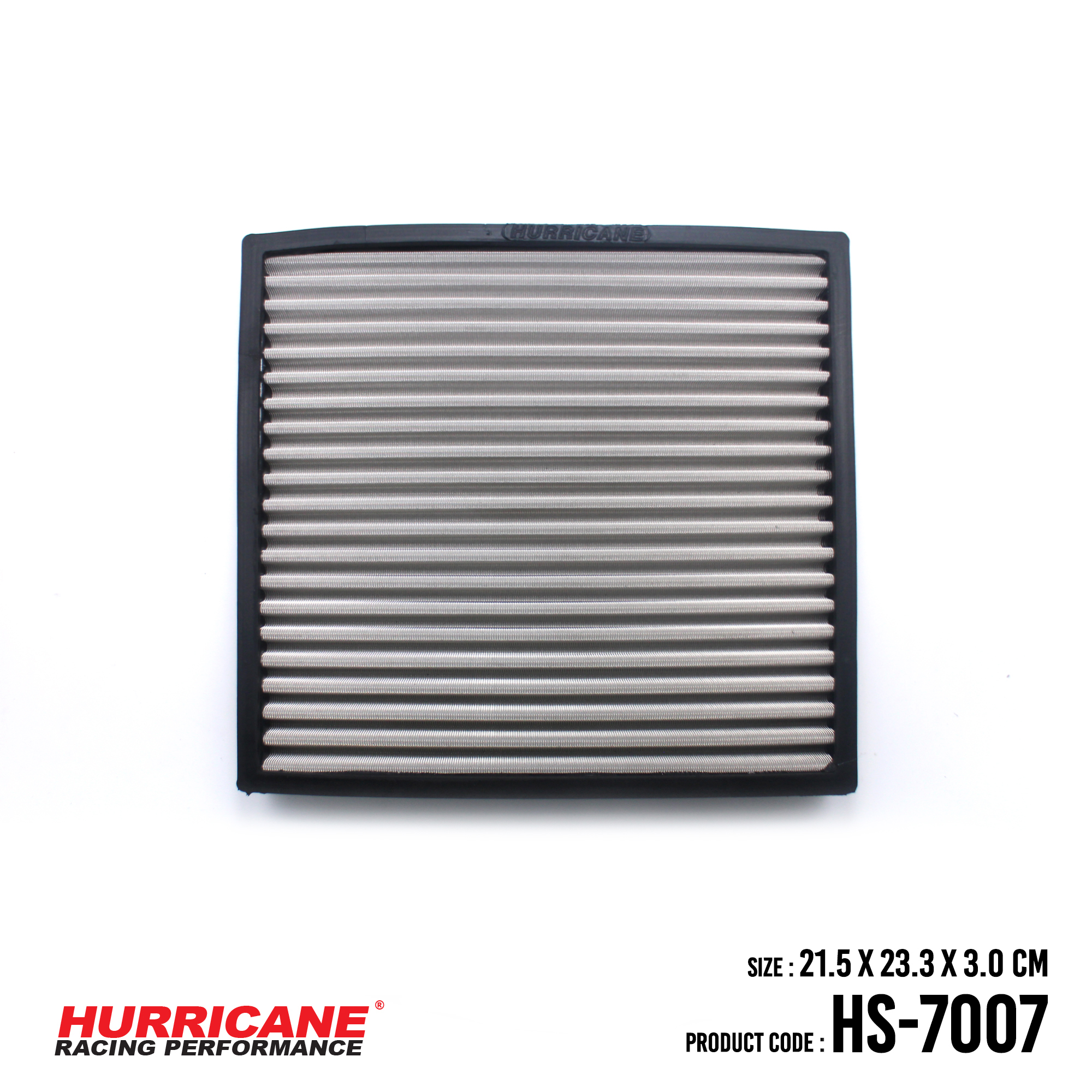 HURRICANE STAINLESS STEEL CABIN AIR FILTER FOR HS-7007 FordMazda