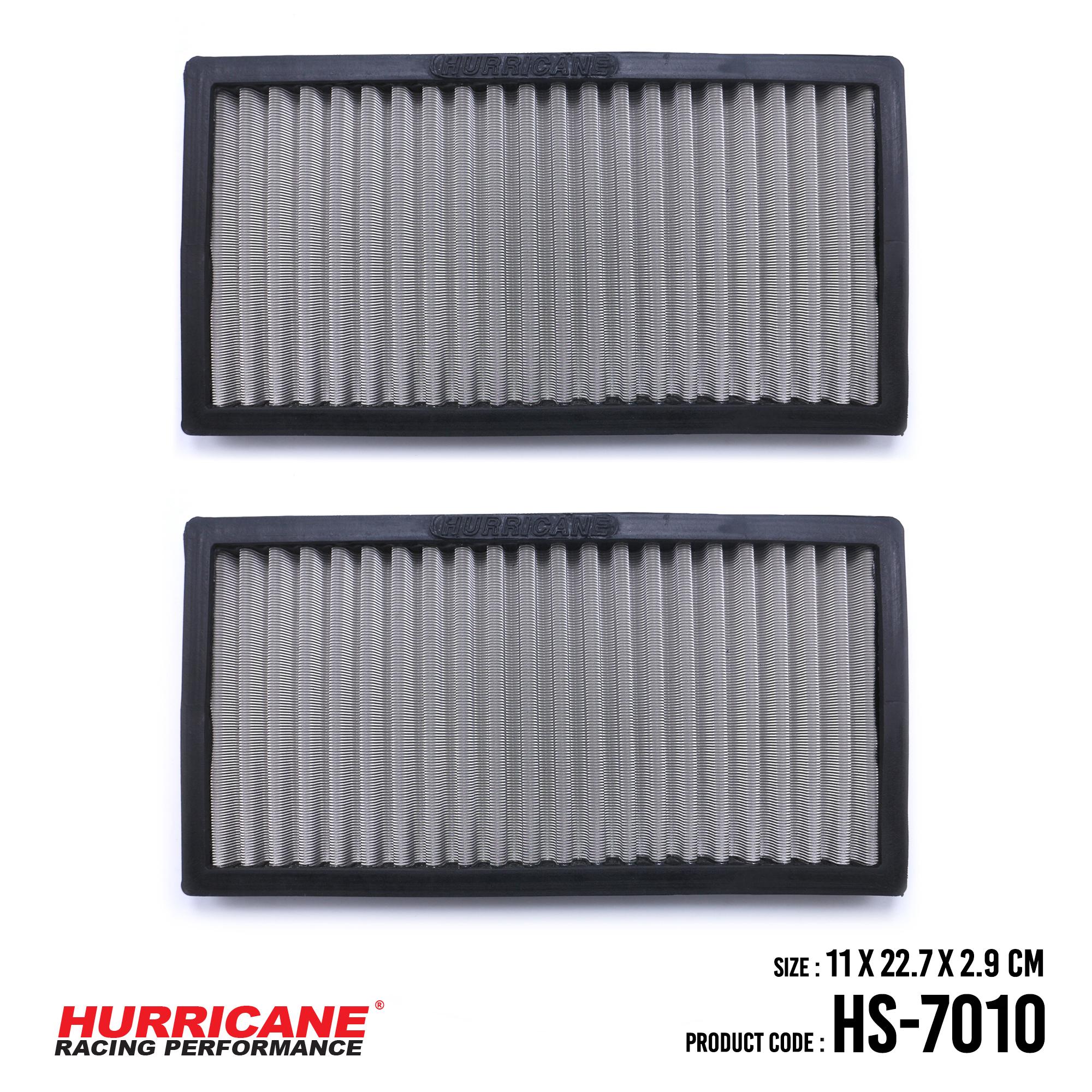 HURRICANE STAINLESS STEEL CABIN AIR FILTER FOR HS-7010 Honda