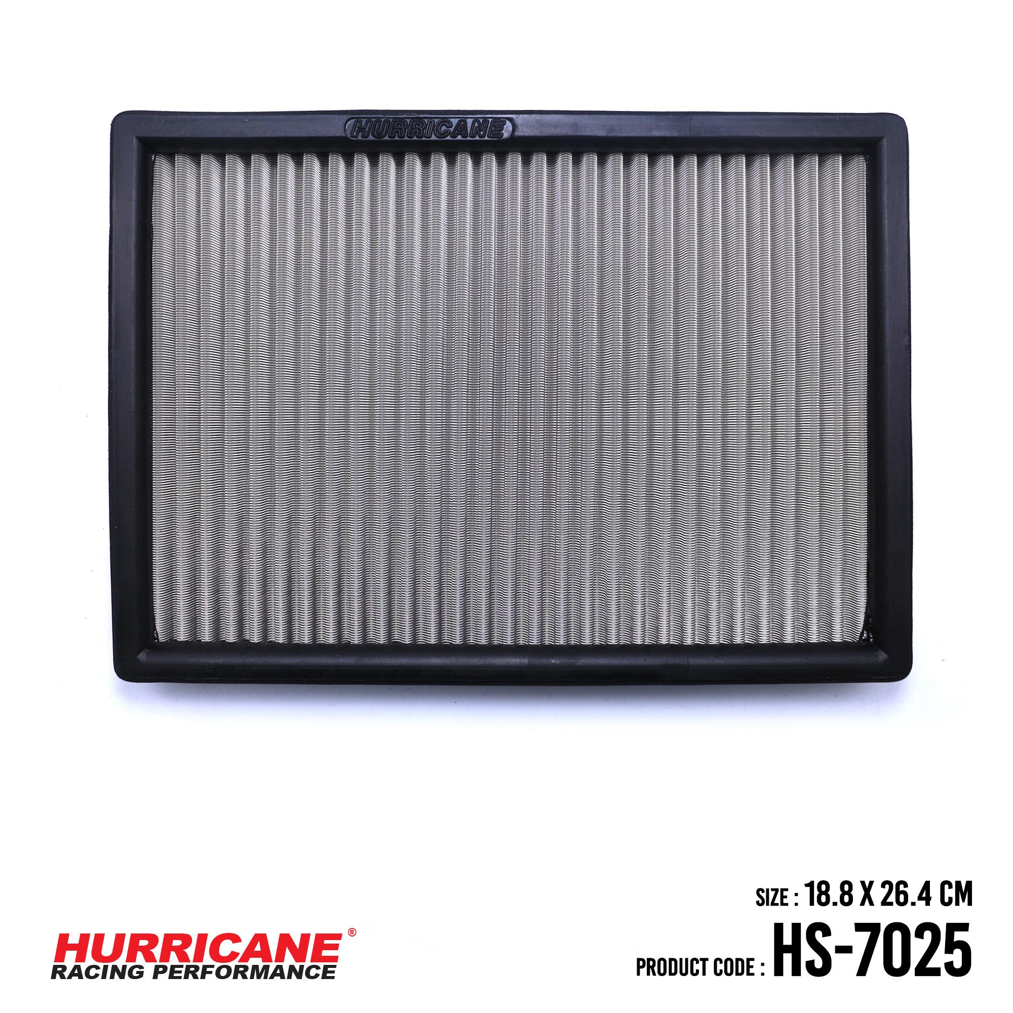 HURRICANE STAINLESS STEEL CABIN AIR FILTER FOR HS-7025 Chevrolet